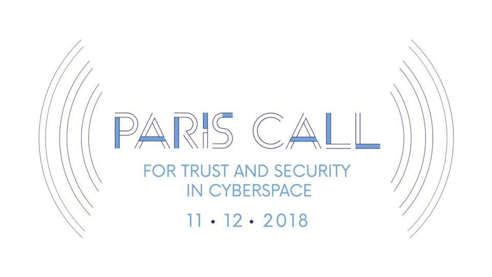The Cybersecurity Tech Accord endorses the Paris Call; strengthening our commitment to ensuring trust and stability in cyberspace