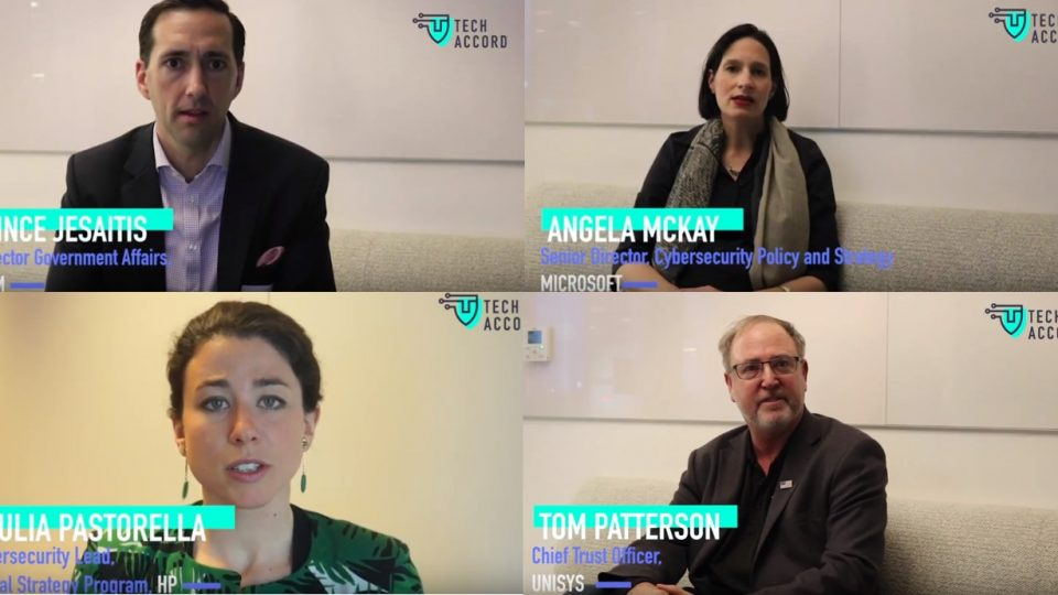 VIDEO: Hear from some of our signatories on why they chose to join the Cybersecurity Tech Accord