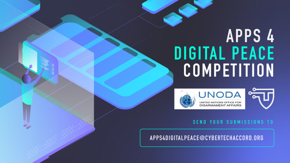 Cybersecurity Tech Accord announces new contest in partnership with the UN Office of Disarmament Affairs