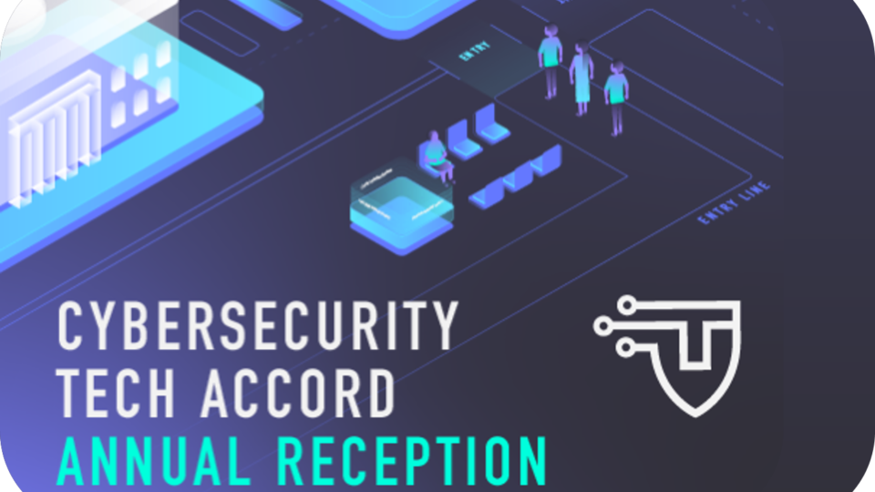 EVENT | Cybersecurity Tech Accord Annual Reception